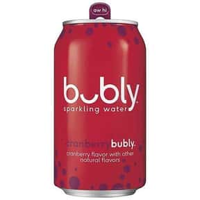 Cranberry is listed (or ranked) 14 on the list The Best Bubly Sparkling Water Flavors