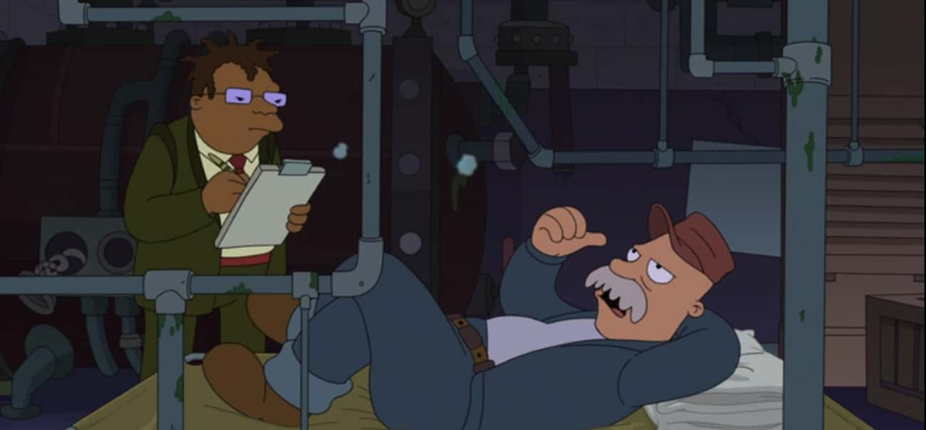 My Job is listed (or ranked) 1 on the list The Best Scruffy Quotes From 'Futurama'