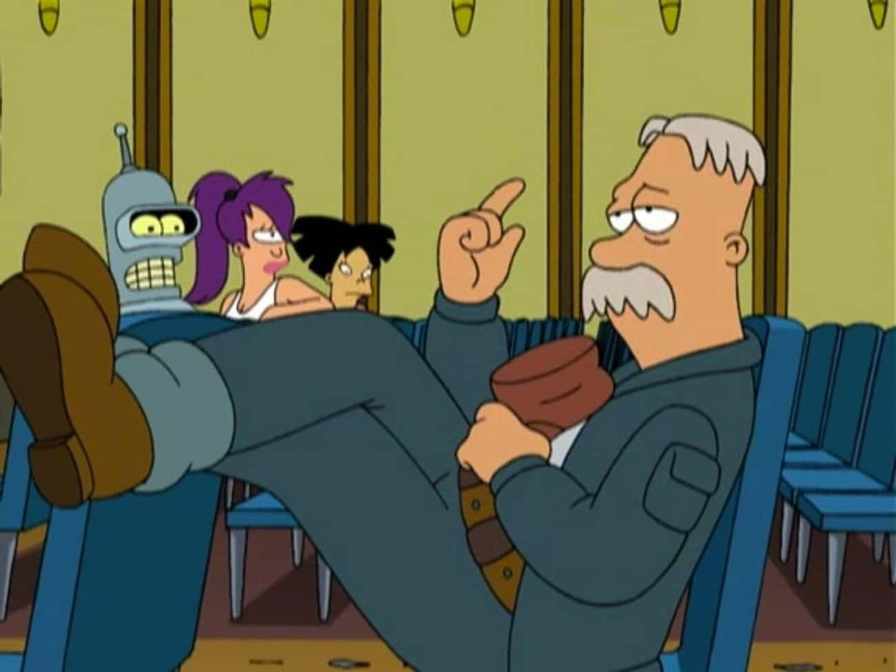 40,000 Shares is listed (or ranked) 3 on the list The Best Scruffy Quotes From 'Futurama'