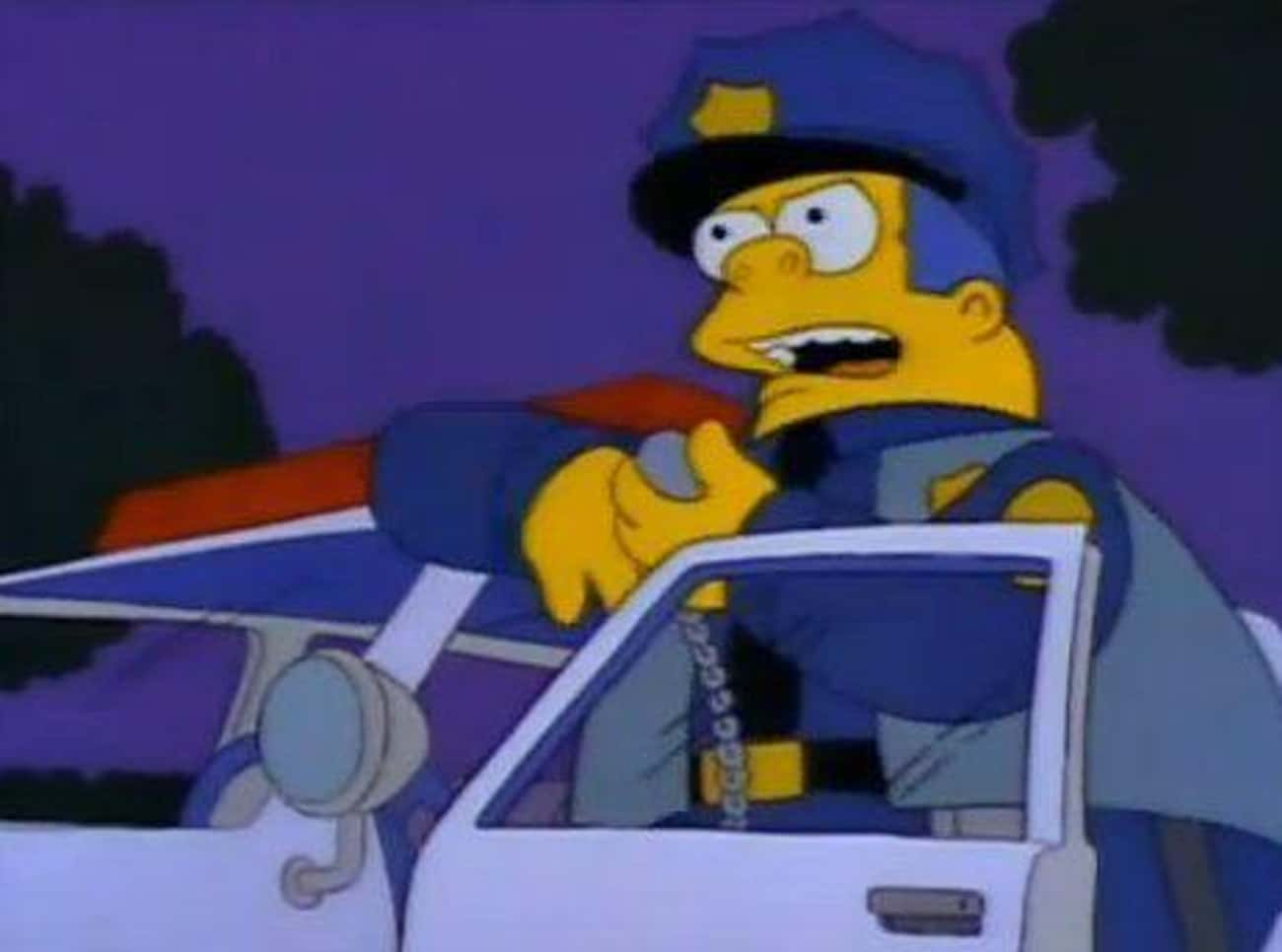 Hatless is listed (or ranked) 1 on the list The Best Chief Wiggum Quotes From 'The Simpsons'