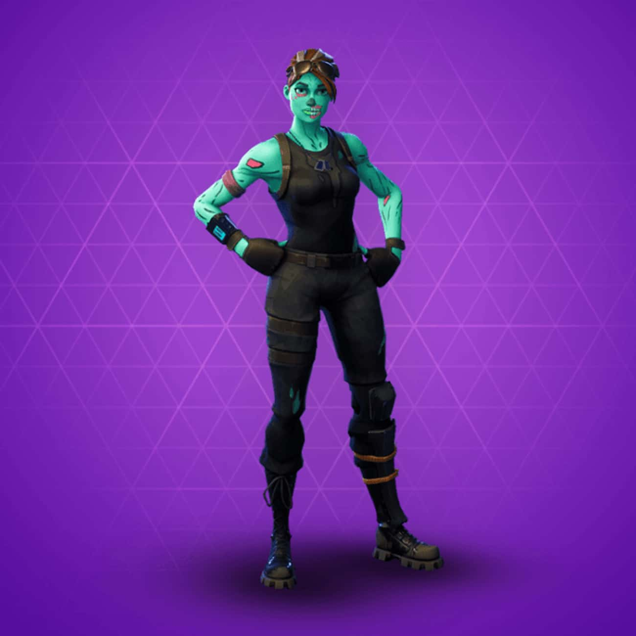Ghoul Trooper is listed (or ranked) 1 on the list The Best Green Skins In 'Fortnite'