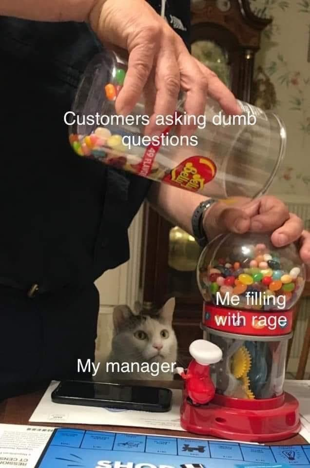 The In-Store Dynamic on Random Memes Only People Who Work At Dominos Will Relate To