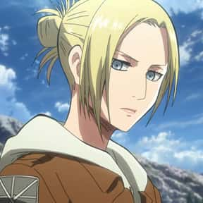 Annie Leonhart is listed (or ranked) 1 on the list List of Anime Characters Born on March 22nd