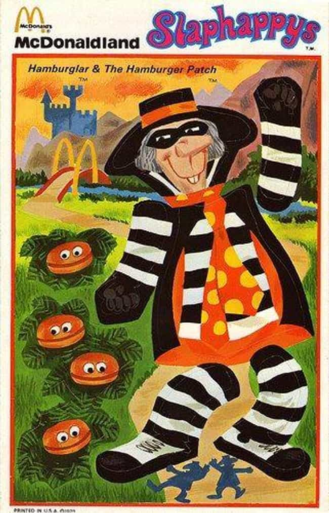 The Hamburglar's Name Is... is listed (or ranked) 1 on the list McDonaldland Is A Fast Food Fever Dream With More Convoluted Characters Than The MCU