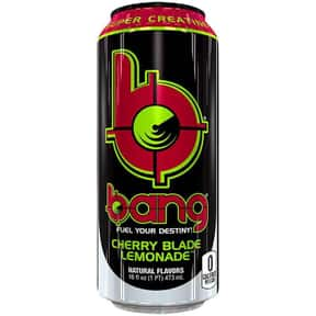 Cherry Blade Lemonade is listed (or ranked) 2 on the list The Best Bang Energy Drink Flavors, Ranked By Taste