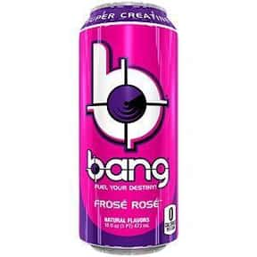 Frosé Rosé is listed (or ranked) 15 on the list The Best Bang Energy Drink Flavors, Ranked By Taste