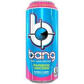 Rainbow Unicorn is listed (or ranked) 16 on the list The Best Bang Energy Drink Flavors, Ranked By Taste
