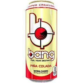 Pina Colada is listed (or ranked) 14 on the list The Best Bang Energy Drink Flavors, Ranked By Taste
