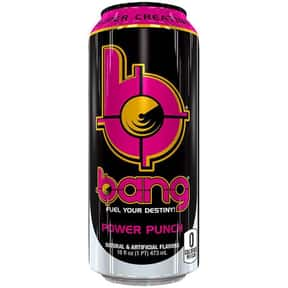 Power Punch is listed (or ranked) 9 on the list The Best Bang Energy Drink Flavors, Ranked By Taste