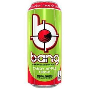 Candy Apple Crisp is listed (or ranked) 7 on the list The Best Bang Energy Drink Flavors, Ranked By Taste