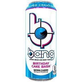 Birthday Cake Bash is listed (or ranked) 21 on the list The Best Bang Energy Drink Flavors, Ranked By Taste
