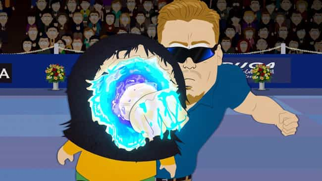 Hey Leslie is listed (or ranked) 3 on the list The Best PC Principal Quotes From 'South Park'