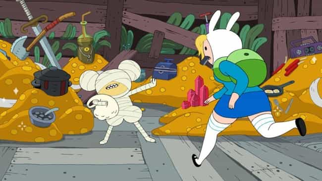 Fionna and Cake and Fion... is listed (or ranked) 2 on the list The Best Fionna and Cake Episodes On 'Adventure Time'