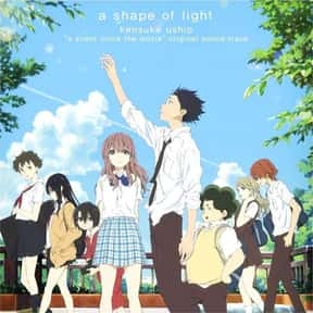 A Silent Voice is listed (or ranked) 9 on the list The Most Popular Anime Right Now