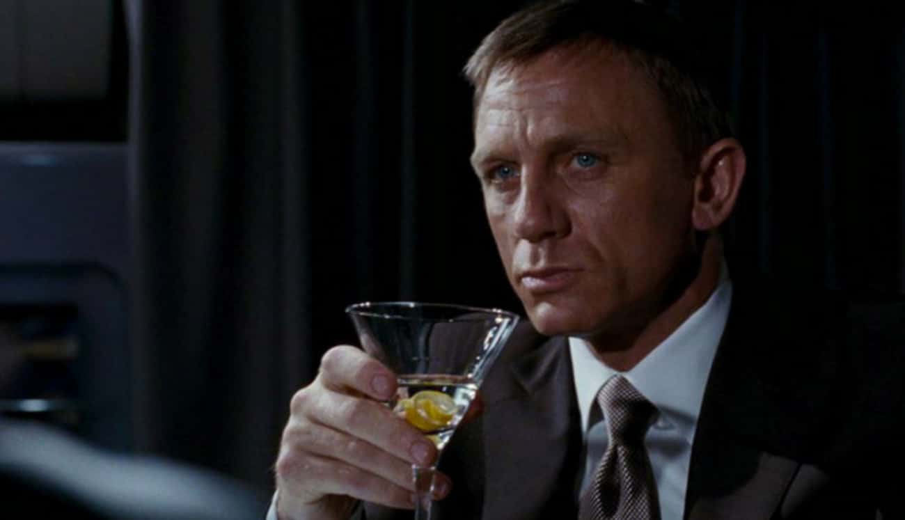 Bond Orders A Vodka Martini Sh is listed (or ranked) 2 on the list James Bond Fan Theories That Might Alter Our Understanding Of 007's Entire Existence
