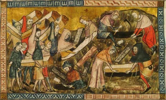 1300s: The Black Death ... is listed (or ranked) 3 on the list What Was The Most Significant Infectious Disease In Every Century?