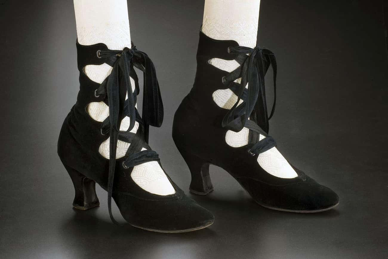 1910: Tango Shoes And Boots For All Occasions