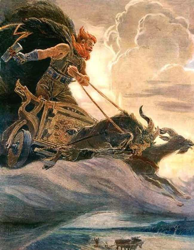 Thor Is A Redhead is listed (or ranked) 2 on the list What Marvel's Thor Gets Wrong About Norse Mythology