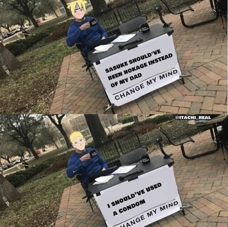 Random Funny Boruto Memes