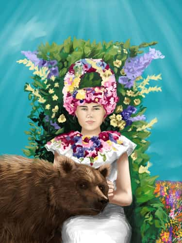 Dani And The Bear