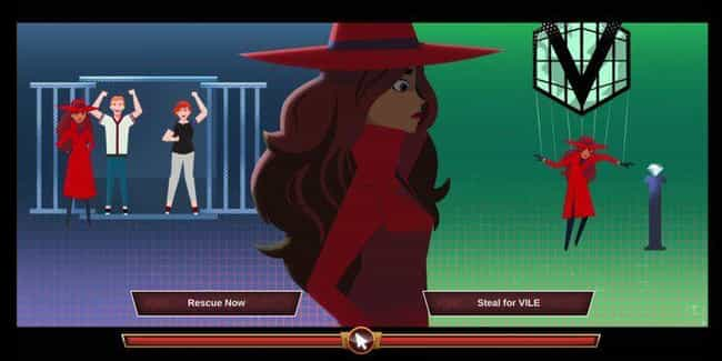 Carmen Sandiego: To Stea... is listed (or ranked) 3 on the list The Best Netflix Interactive Content