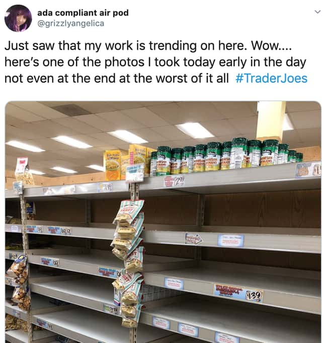 No One's Grateful For Parmesan is listed (or ranked) 25 on the list 26 Items Left On The Shelves That Even Panic Buyers Didn't Want
