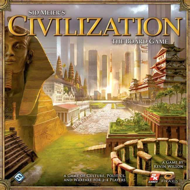 Civilization is listed (or ranked) 3 on the list 21 Extremely Long Board Games To Help Pass The Time While You're Stuck Inside