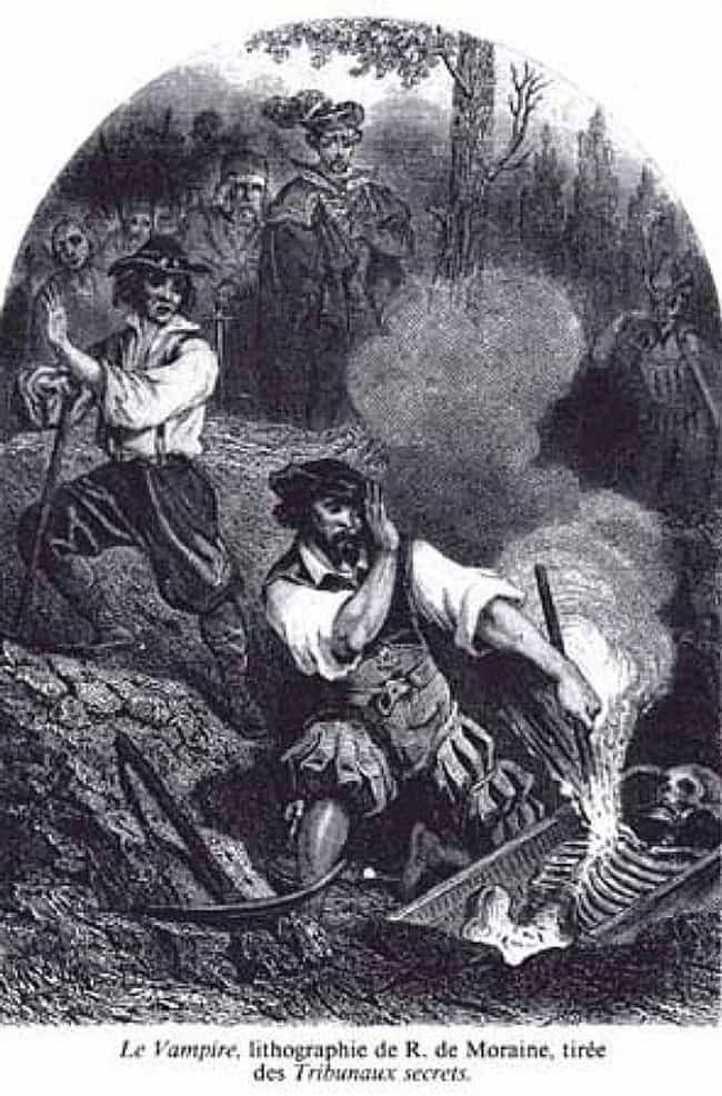 Desperate Townspeople Re... is listed (or ranked) 4 on the list How 19th-Century Disease Panic Created 'Vampires' As We Know Them