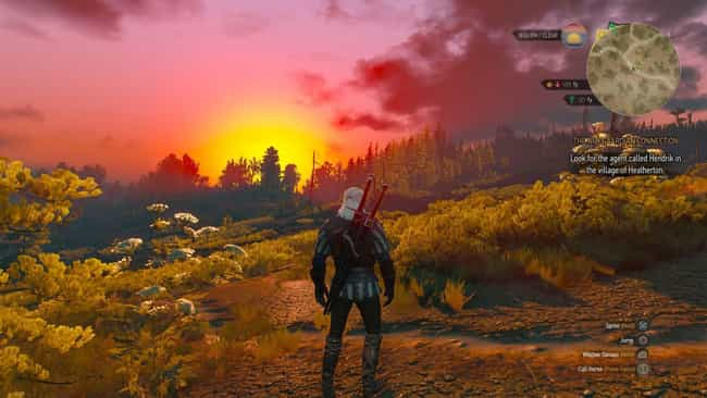 The World Of 'Witcher 3'... is listed (or ranked) 3 on the list 13 Strong Reasons Why 'Witcher 3' Is Better Than 'Skyrim'