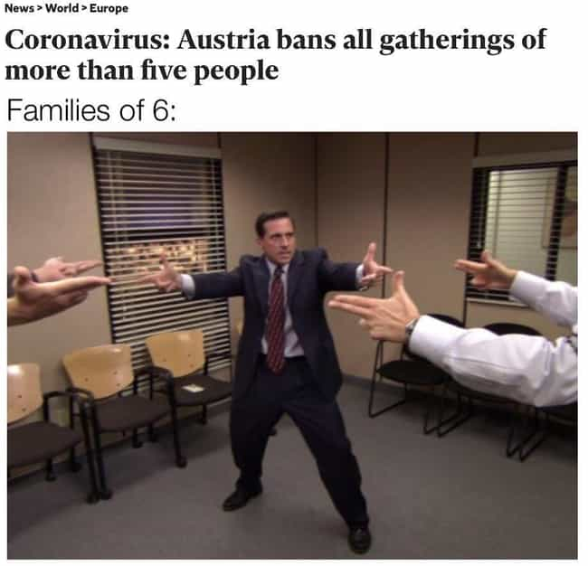 One Of Us Has To Go is listed (or ranked) 2 on the list 25 'The Office' CoV2 Memes That Prove Dunder Mifflin Makes Everything Better