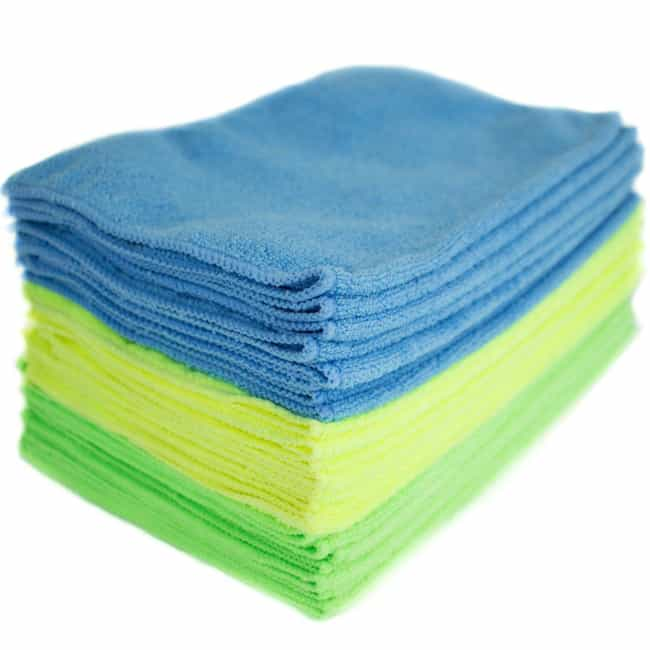 Microfiber Towels Are Se... is listed (or ranked) 3 on the list Products That Will Change The Way You Clean Everything