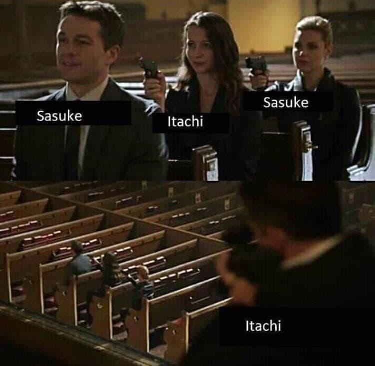 Random Hilarious Itachi Uchiha Memes That Will Put You Under His Genjutsu