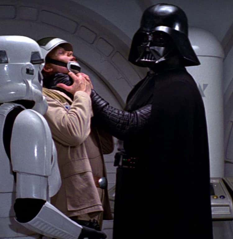 The Reason Darth Vader Seems So Uncharacteristically Angry At The Beginning Of A New Hope