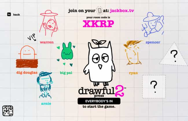 Drawful 2 is listed (or ranked) 1 on the list The 25 Best Jackbox Party Games To Download And Play With Your Friends