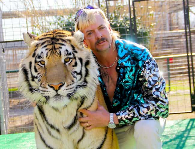 Joe Exotic Was A Flamboy... is listed (or ranked) 1 on the list Netflix's 'Tiger King' Is The Greatest Story About Petty Feuds, Hitmen, And Wild Animals Ever Told
