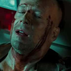 """""""I was out of bullets.""""  is listed (or ranked) 6 on the list 21 Of Bruce Willis's Most Memorable One-Liners"""