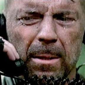 """""""God already left Africa.""""  is listed (or ranked) 20 on the list 21 Of Bruce Willis's Most Memorable One-Liners"""