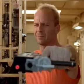 """""""Listen lady, I only speak two is listed (or ranked) 5 on the list 21 Of Bruce Willis's Most Memorable One-Liners"""
