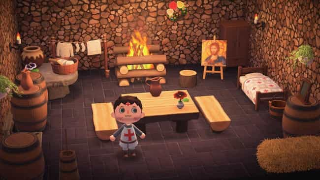 25 Creative 'Animal Crossing: New Horizons' House Designs on Animal Crossing Room Ideas New Horizons  id=84587