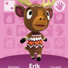 Erik is listed (or ranked) 19 on the list All 'Animal Crossing: New Horizons' Villagers & Characters, Ranked