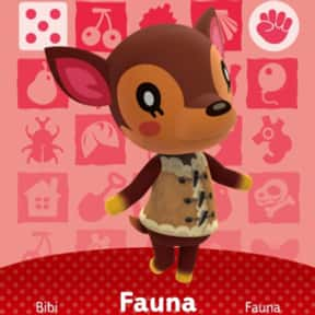 Fauna is listed (or ranked) 1 on the list All 'Animal Crossing: New Horizons' Villagers & Characters, Ranked