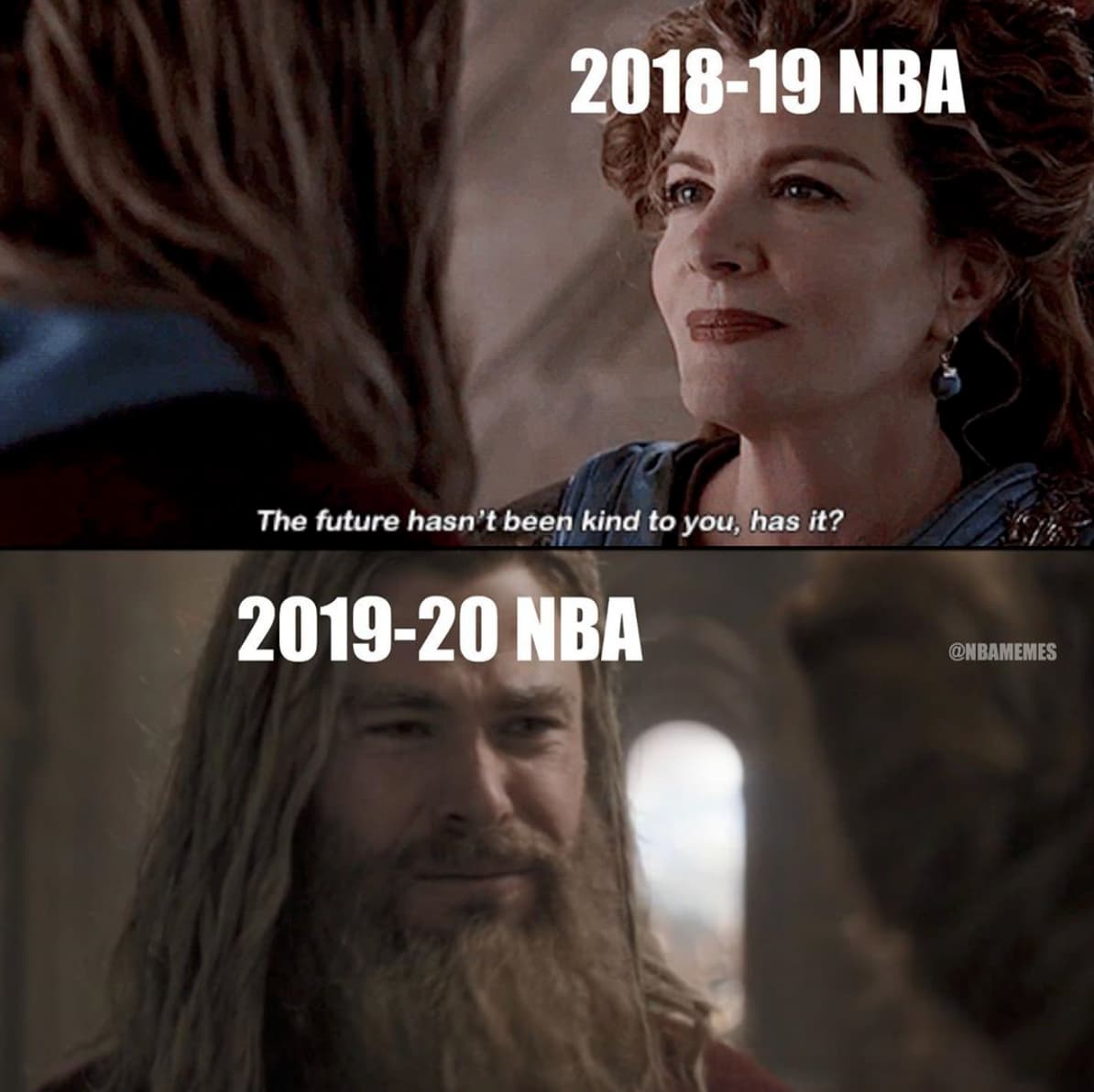 Image of Random Funny NBA Memes To Laugh At So You Don't Cry Because There Is No NBA