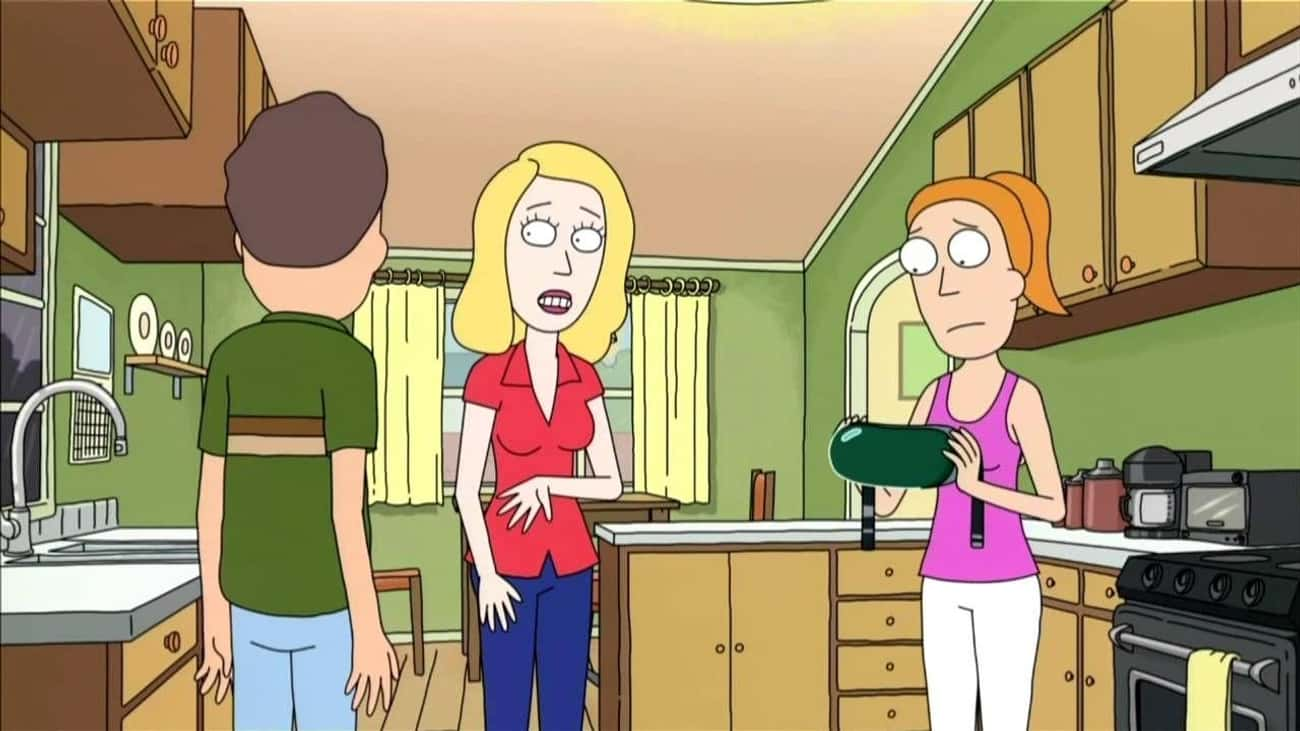 We're Not Heroes is listed (or ranked) 1 on the list The Best Jerry Smith Character Quotes From 'Rick and Morty'