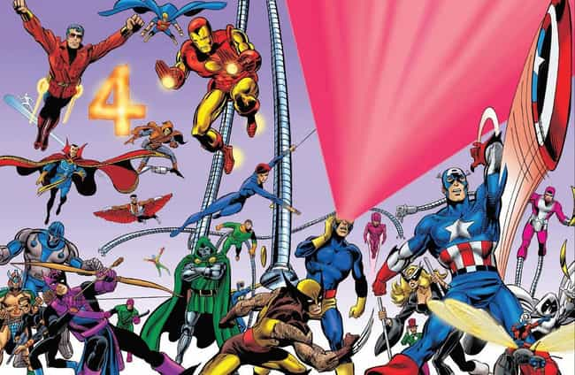 Earth-616: The Main Cont... is listed (or ranked) 1 on the list The Coolest & Weirdest Marvel Earths Explained, For People Who Can't Tell Earth-616 From Earth-1218