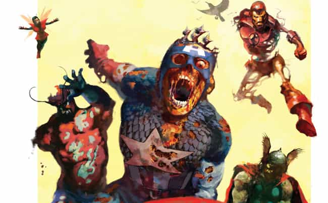 Earth-2149: Marvel Zombi... is listed (or ranked) 4 on the list The Coolest & Weirdest Marvel Earths Explained, For People Who Can't Tell Earth-616 From Earth-1218