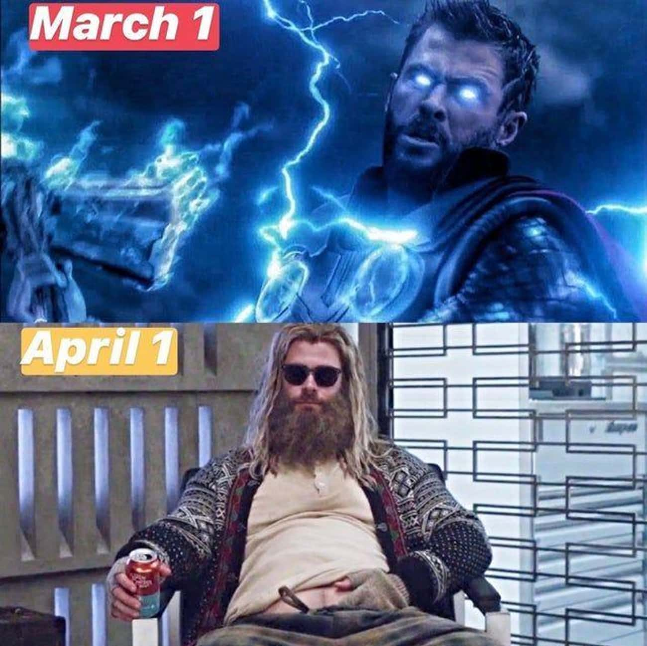 It's Been A Rough Month is listed (or ranked) 2 on the list 29 Random Thor Memes We Laughed Way Too Hard At
