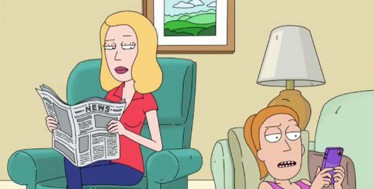 Traumatized for Breakfast is listed (or ranked) 2 on the list The Best Summer Smith Character Quotes From 'Rick and Morty'