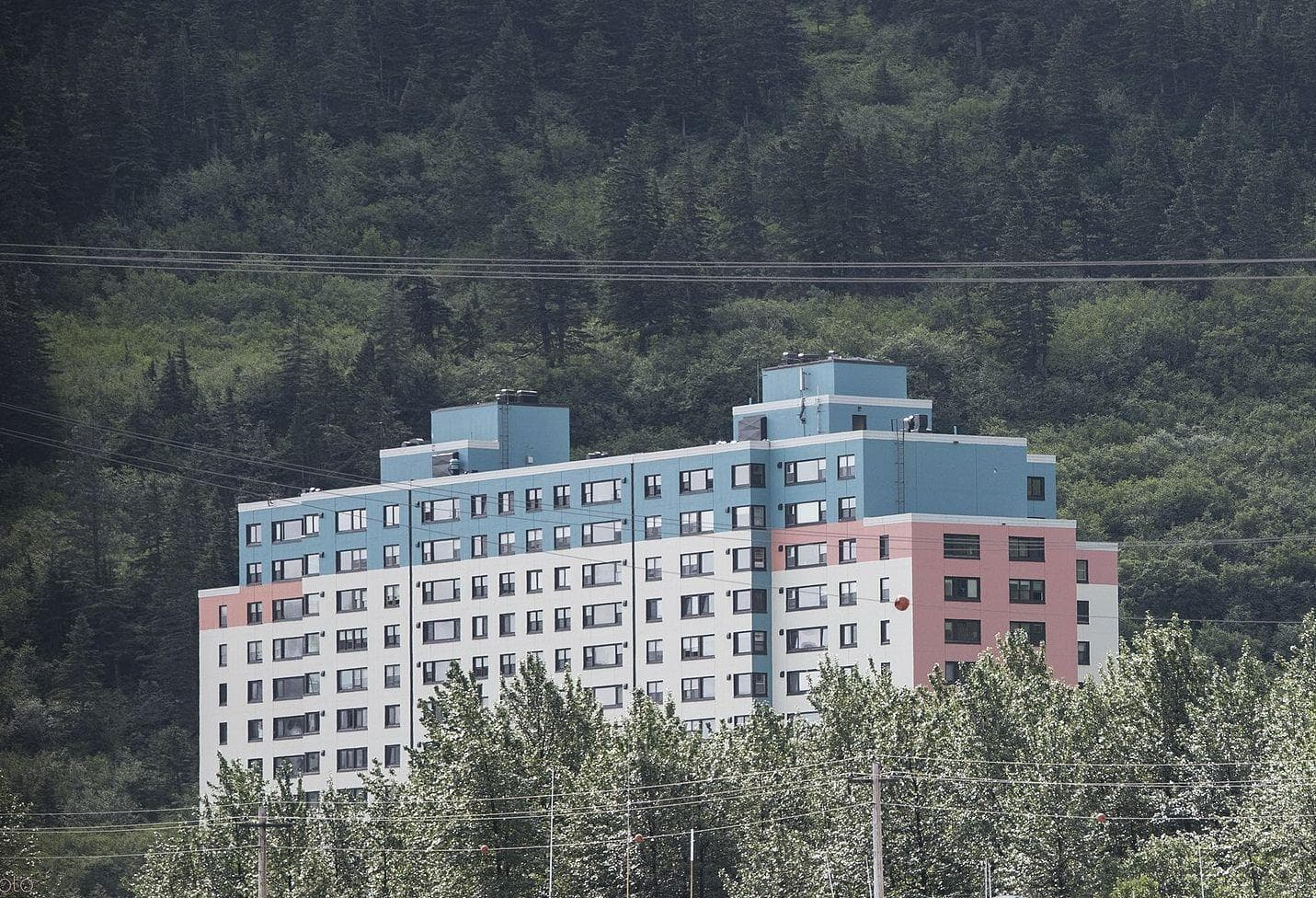 Random Details about Inside Whittier, Alaska, Town Where Everyone Lives In Same Exact Building