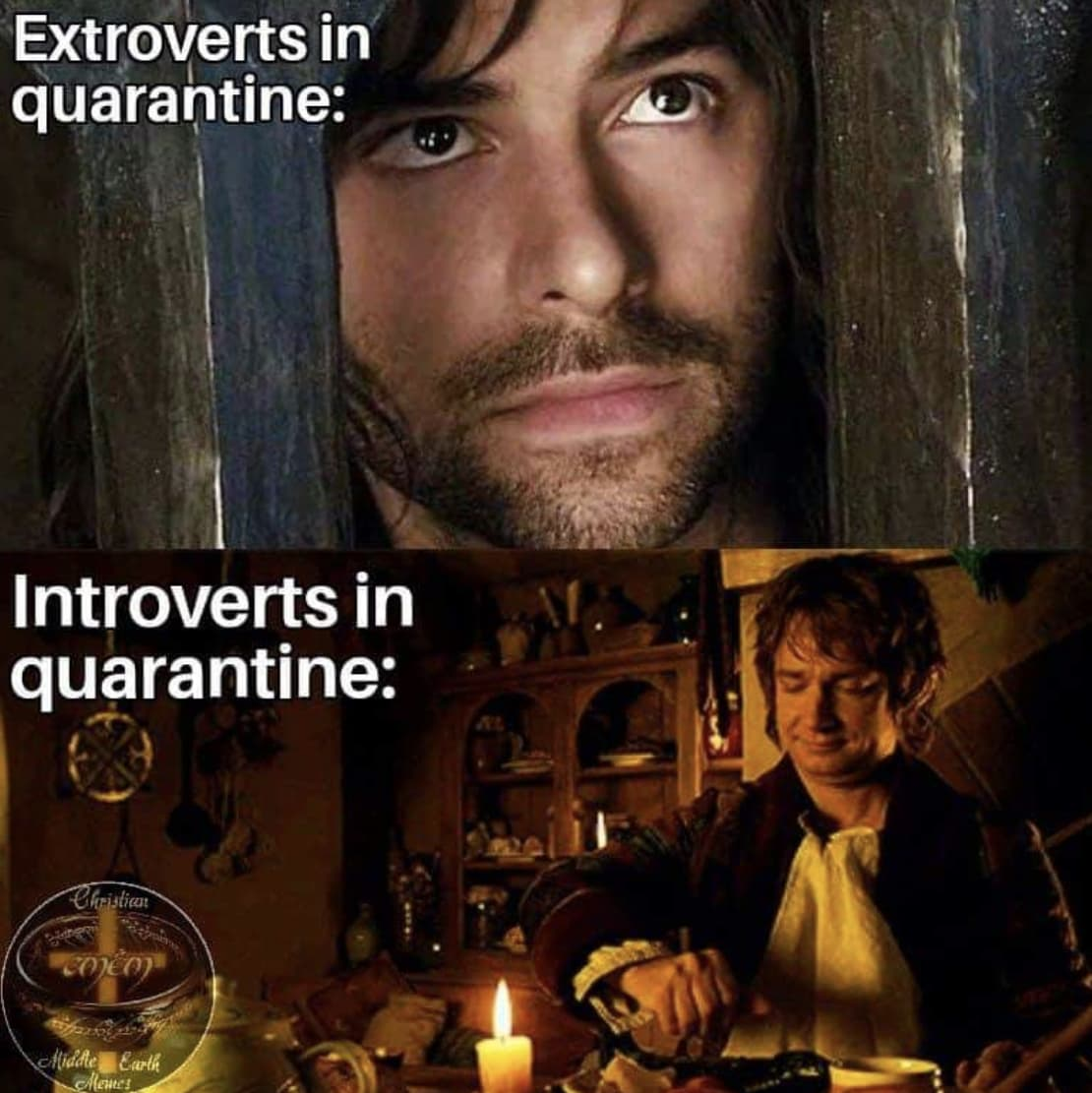 Random Funniest 'Lord of the Rings' Memes About Coronavirus