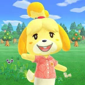 Isabelle is listed (or ranked) 10 on the list All 'Animal Crossing: New Horizons' Villagers & Characters, Ranked